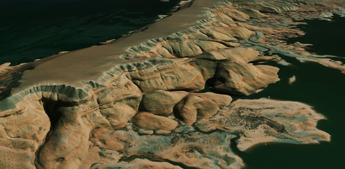 Data import satellite imagery