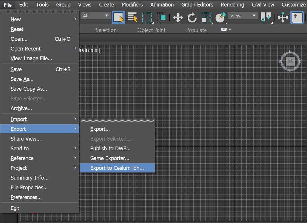 Integrating with 3DS Max export option