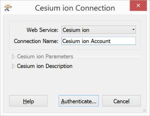 Integrating with FME connectCesiumIonAccount