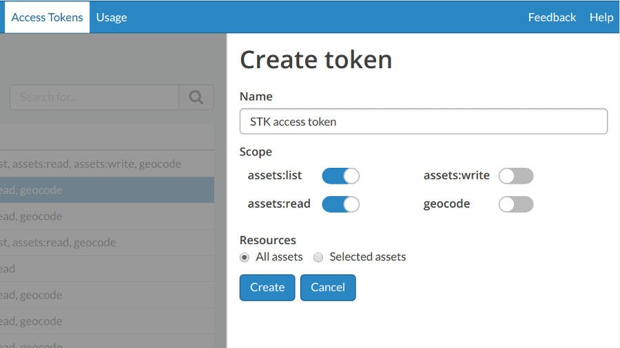 Integrating with STK token permissions