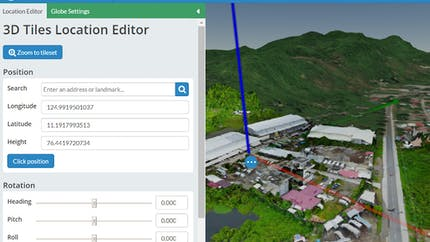 Integrating with WebODM Location Editor 2