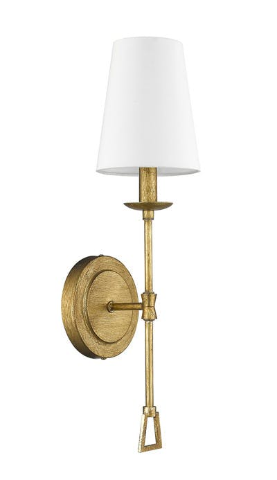 Ponce City Sconce in Gilded Gold
