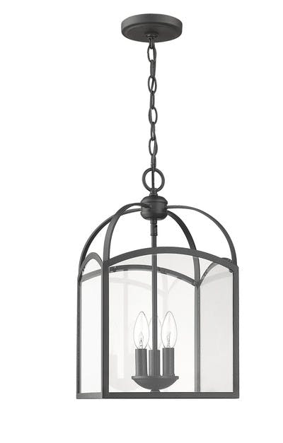 Signature Lanterns (3) in Forged Black