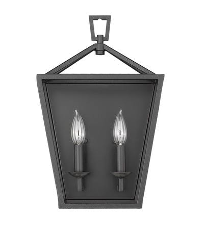 Ponce City Sconce (2) in Forged Black