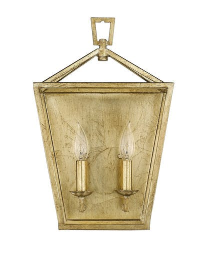 Ponce City Sconce (2) in Gilded Gold