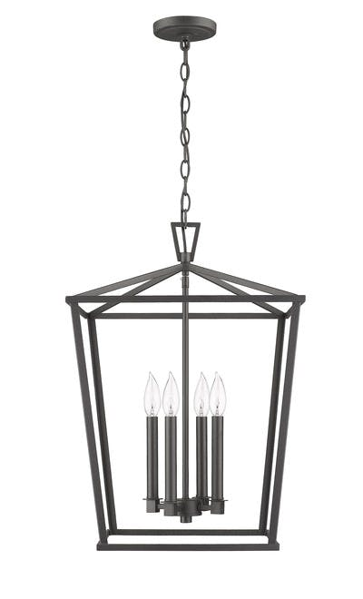 Ponce City Lanterns in Forged Black