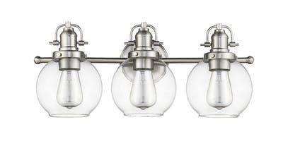 Bridgeport Vanity Light in Satin Nickel
