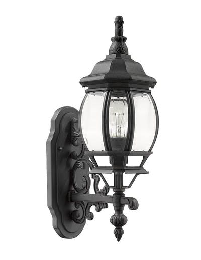 Parkview Wall Mount (Upward) in Black