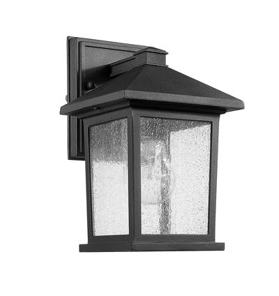 Carriage House Wall Mount (Small) in Black