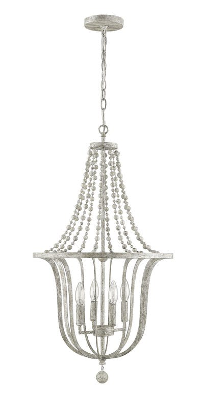 Emma Pendant in Antique Whitewash