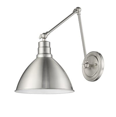 Lenox Sconce (Jointed) in Satin Nickel