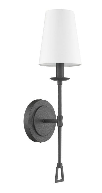 Ponce City Sconce in Forged Black