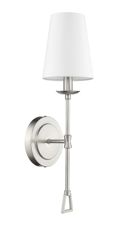 Ponce City Sconce in Satin Nickel