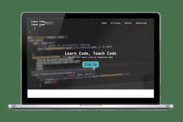 Learn Code, Teach Code