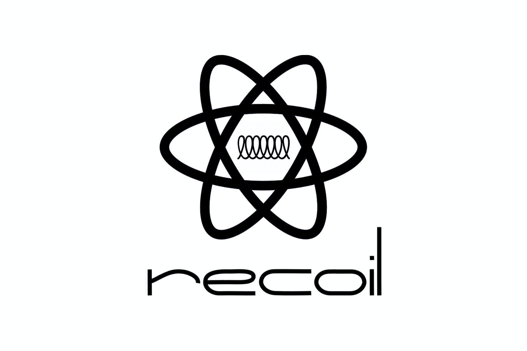 React Recoil logo - fan-made unofficial