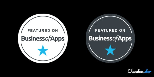 Business of Apps trust badge