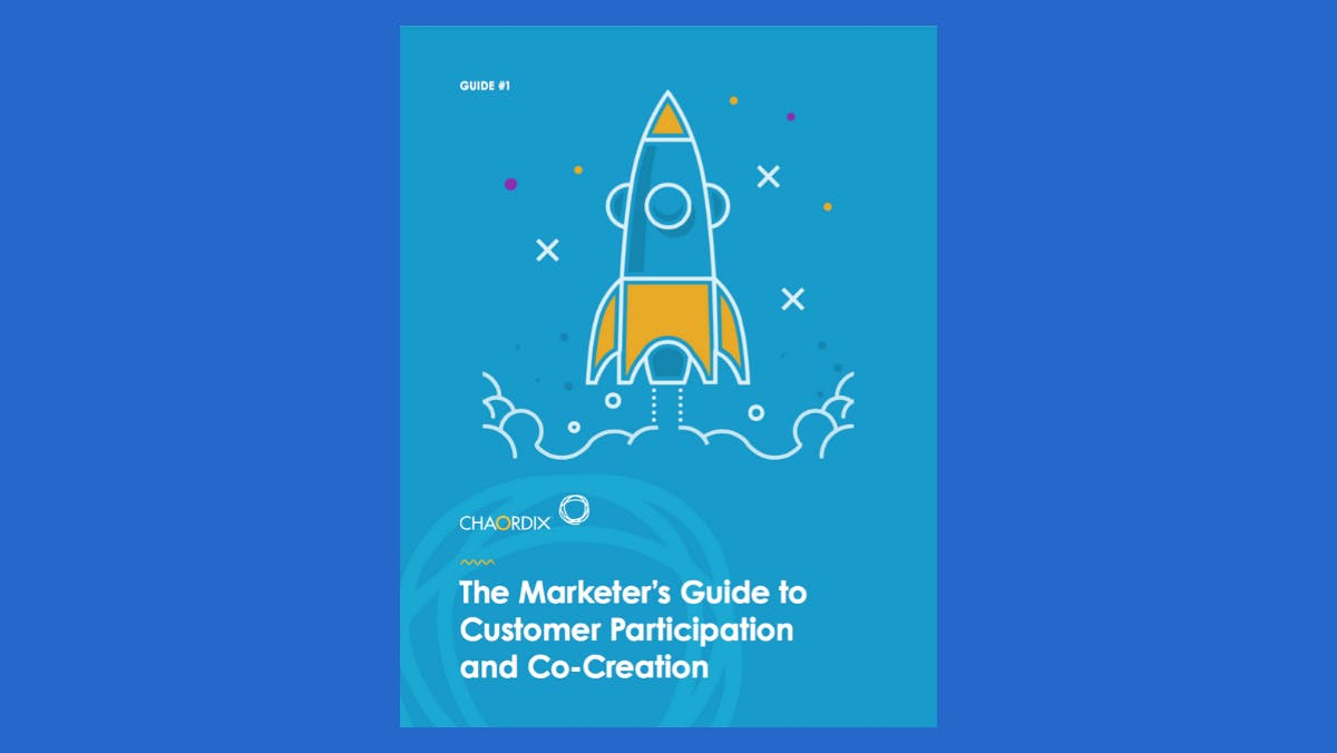 A digital image of the Marketer's Guide ebook cover