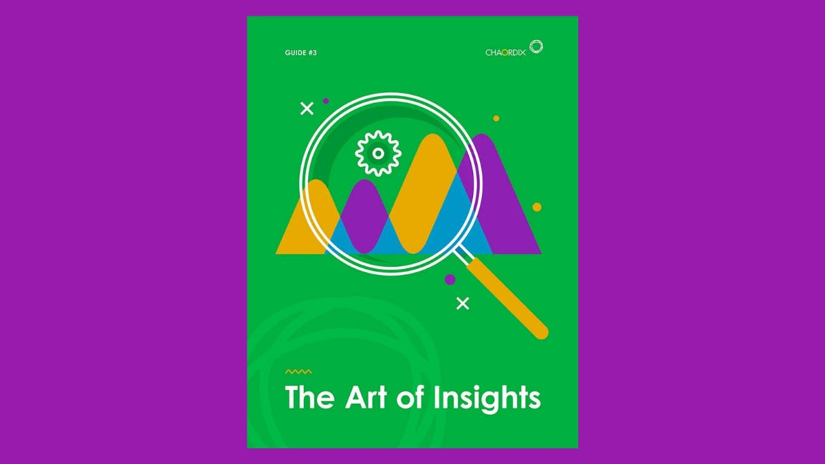 A digital image of the Art of Insights ebook cover