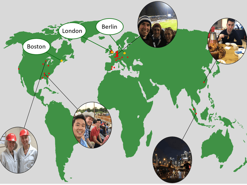 Erkunde verschiedene Kulturen und triff die unterschiedlichsten Menschen bei Projekten in ganz Europa, Amerika und Asien. Die Welt ist groß und braucht Verbesserungen.