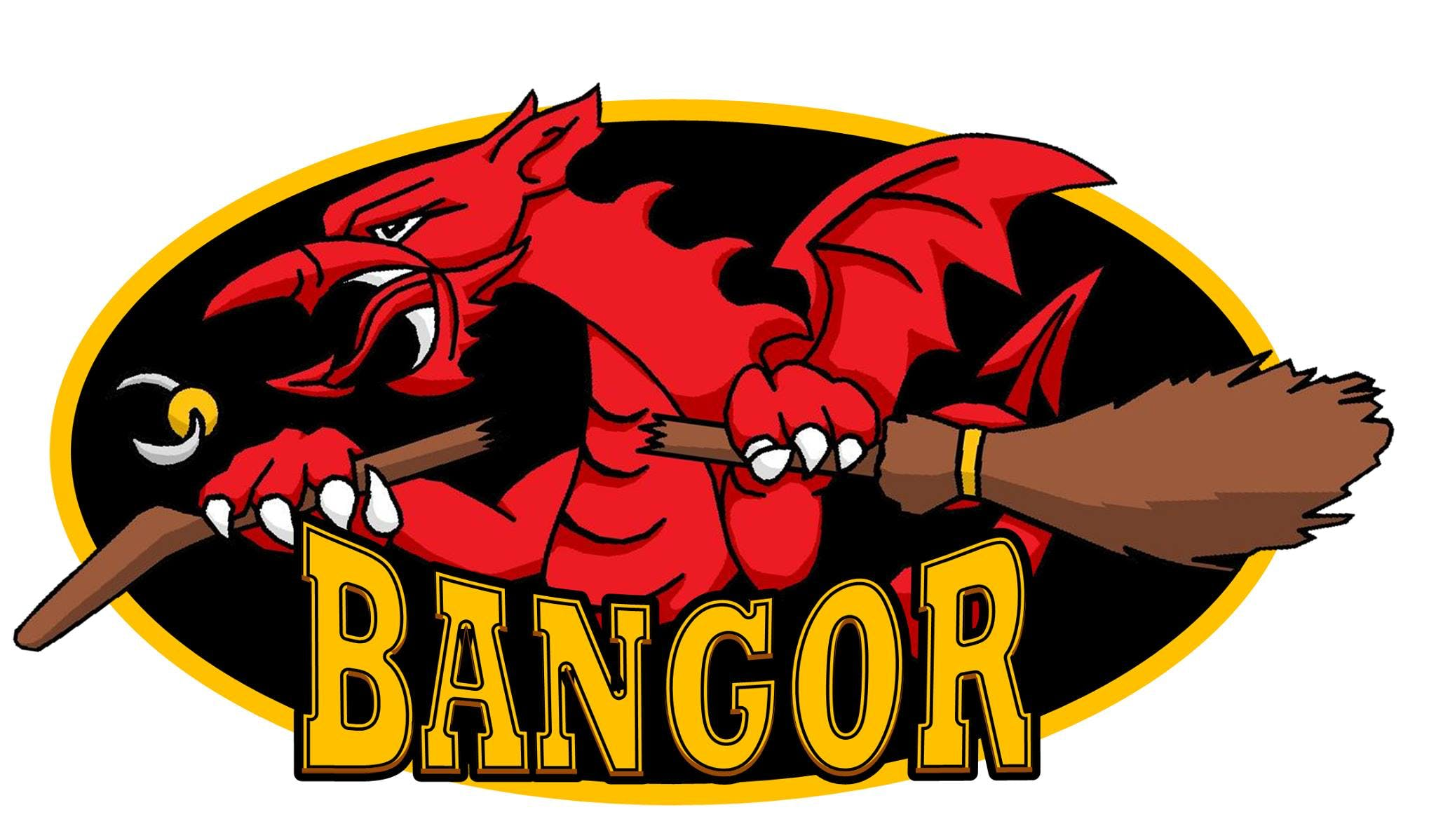 Bangor Broken Broomsticks logo