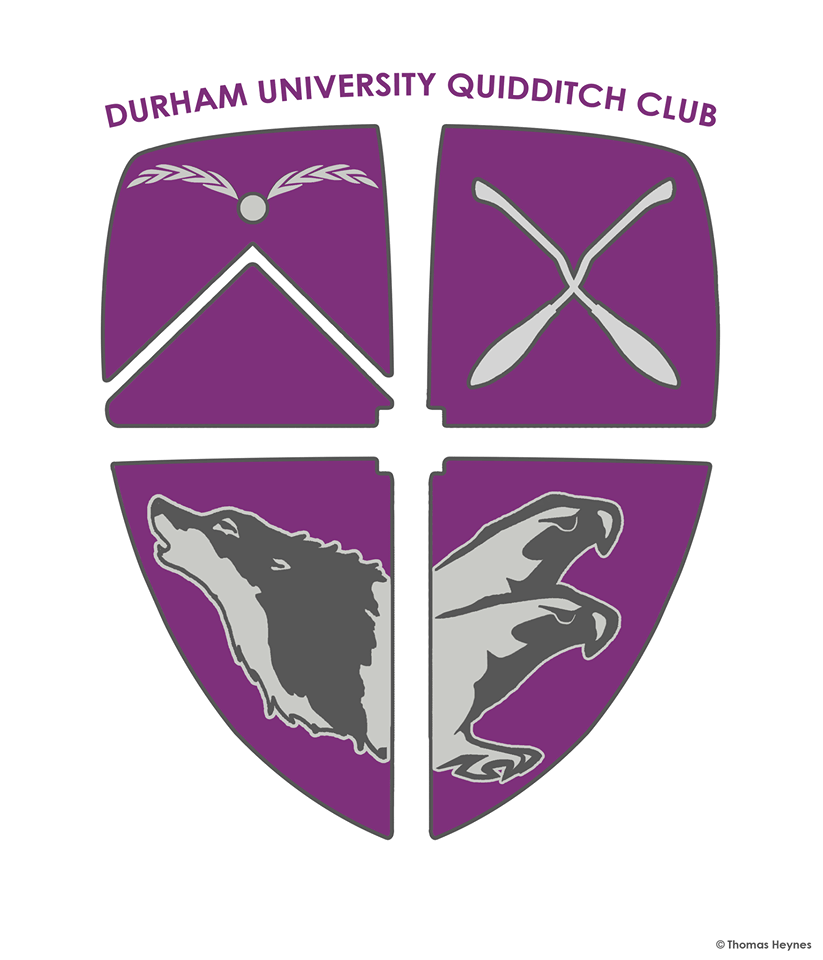 Durhamstrang University Quidditch Club logo
