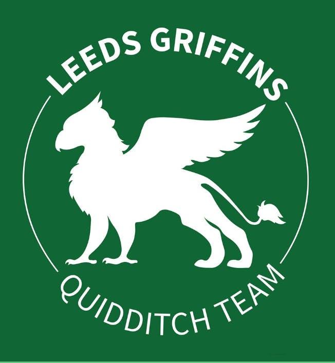 Leeds Griffins Quidditch Club logo