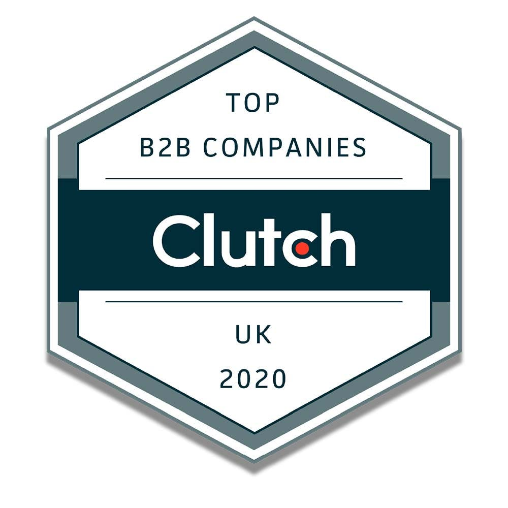 clutch top business to business company for 2020