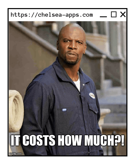 how much does an app cost to build