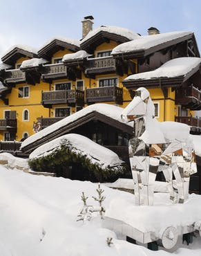 chalet cheval blanc courchevel
