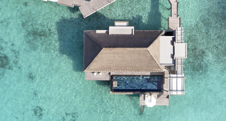 Salon Taupe Et Turquoise art and design│ cheval blanc maldives hotel