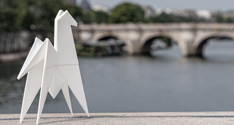 origami iconic des hôtels cheval blanc à paris