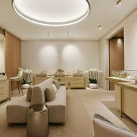 Guerlain engraving atelier at the Cheval Blanc Spa