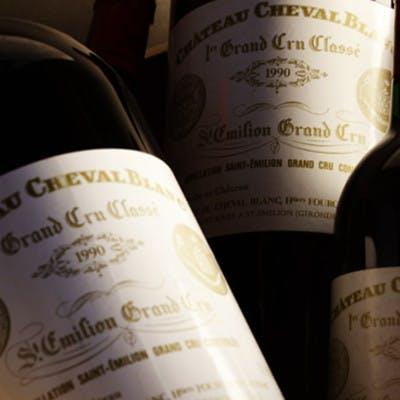 Château Cheval Blanc & Château d'Yquem dinner