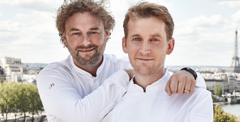 Arnaud Donckele et Maxime Frédéric