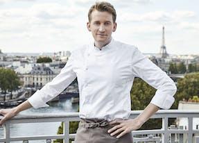 Maxime Frédéric, Chef à Cheval Blanc Paris
