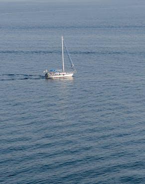 Paddle Yoga at sea