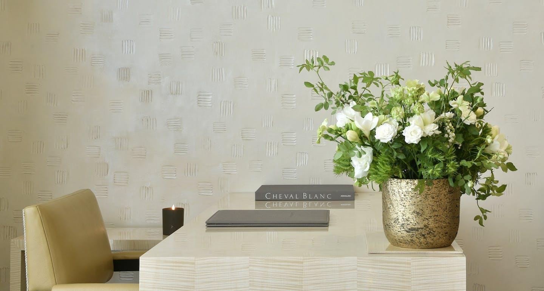 mobilier de l'hôtel luxe cheval blanc paris