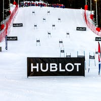 Slalom Hublot Croisette Mountain Courchevel Competition