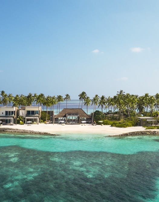 Survol de Cheval Blanc Randheli Private Island