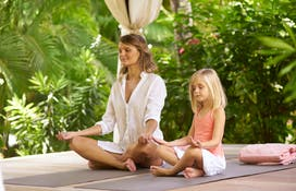 Fitnesss et Yoga au Spa Cheval Blanc St Barth Isle de France