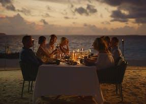 Dîner privé aux Maldives