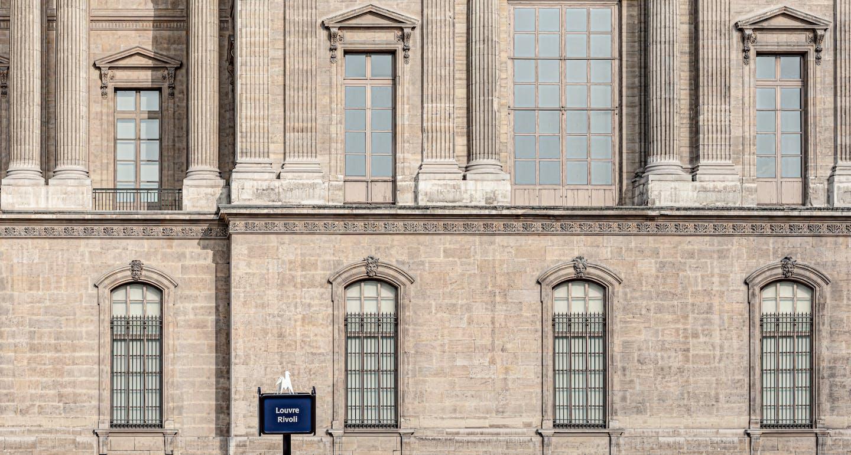musée du louvre à côté de l'hôtel cheval blanc paris