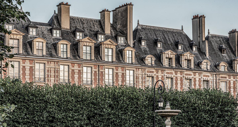 Vue de Paris depuis la Seine