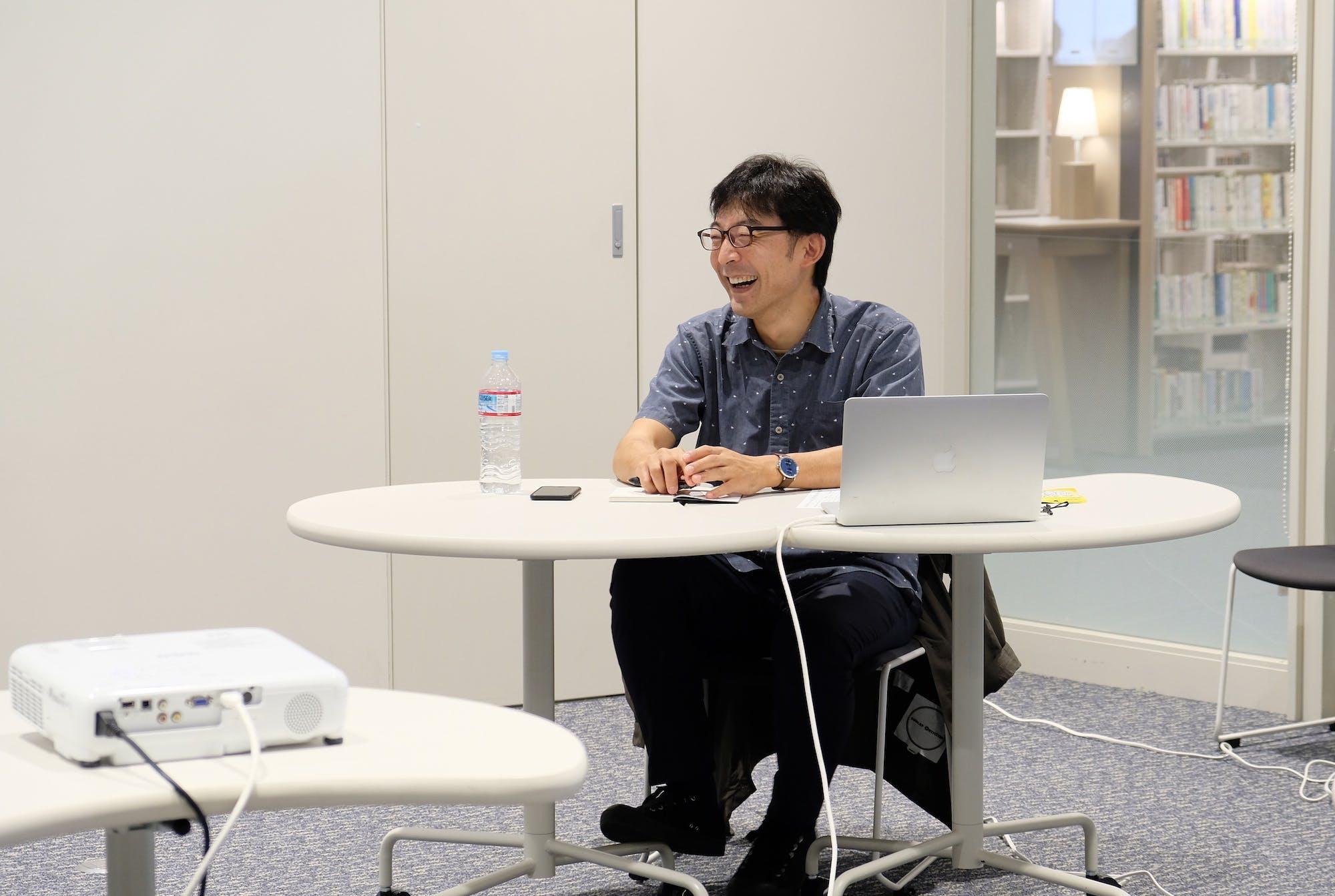 石倉敏明(秋田公立美術大学准教授) photo:當麻妙