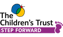 The Children's Trust 'Step Forward' logo.