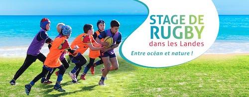 Affiche stage de rugby landes