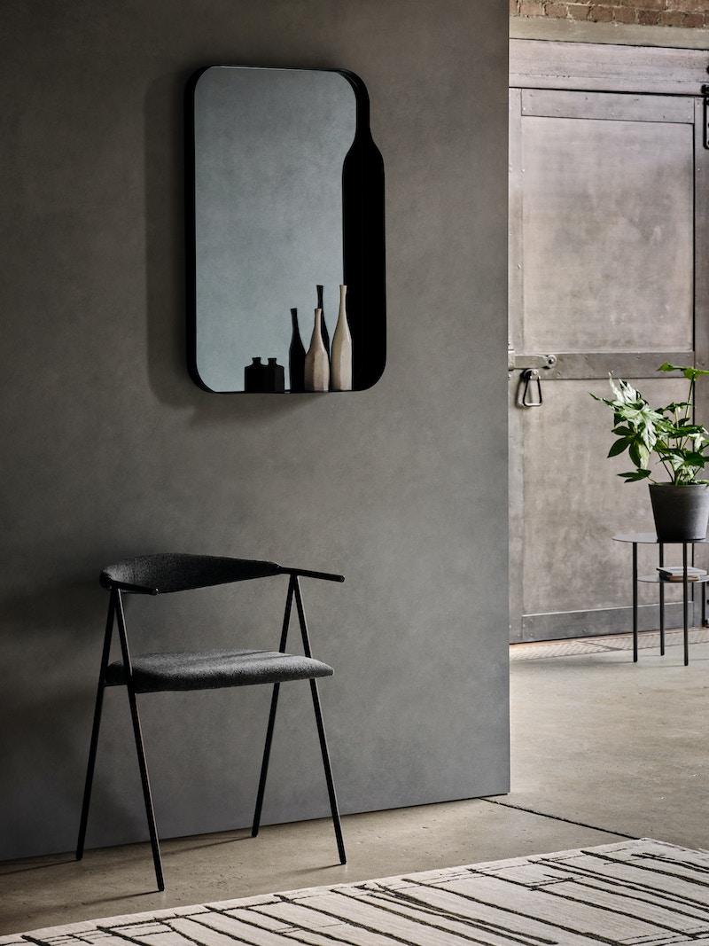 Metal Mirror - Bennerly Mirror - Verticle