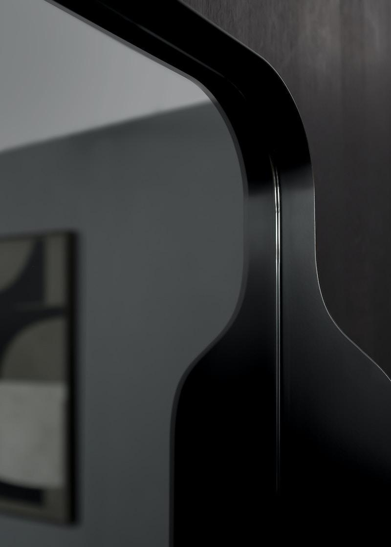 Metal Mirror - Bennerly Mirror - Shelf