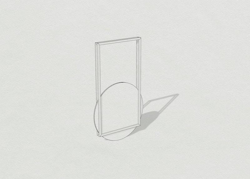 Metal Mirror - Thoralby Mirror