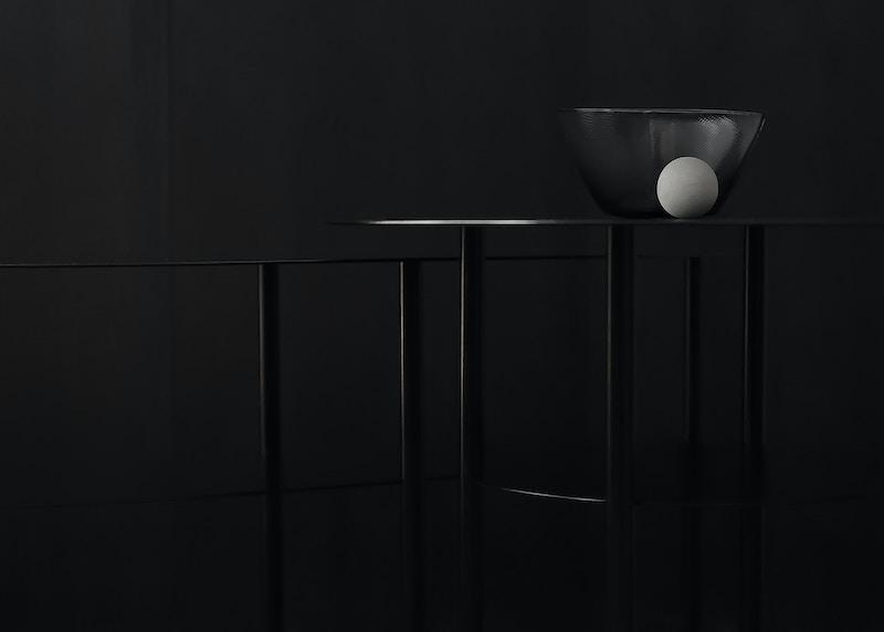 Haldane Side Tables - Metal Side Table Detail